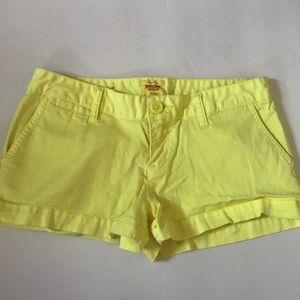 {Mossimo} Target bright yellow shorts